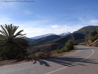 Auffahrt zum Col du Tichka