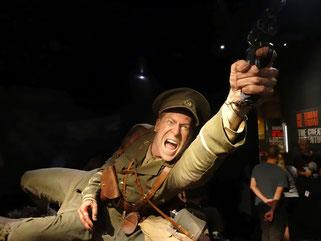 Figur von Westmann Scott im Te Papa Museum
