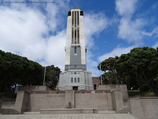 Kriegsdenkmal in Wellington