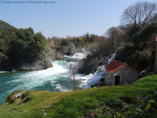 Krka Nationalpark in Kroatien