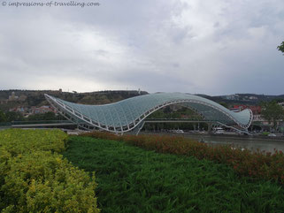 Friedensbrücke in Tiflis
