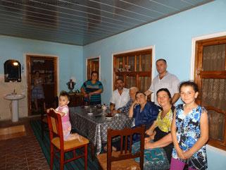 Gastgeberfamilie in Aserbaidschan