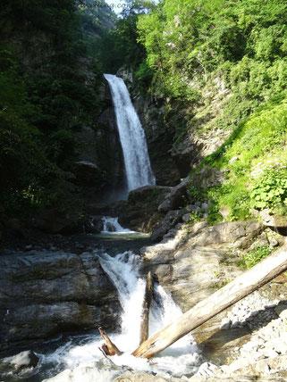 Wasserfall im Nationalpark bei Lagodechi
