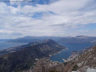 Berge von Kotor