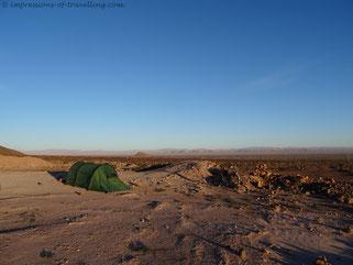 Zelt in Marokko