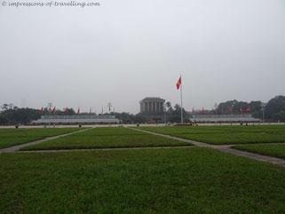 Mausoleum von Ho Chih Minh in Hanoi