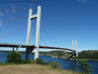 Brücke bei der Insel Tjörn