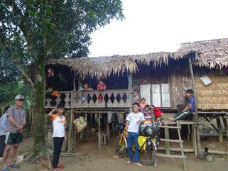 Übernachtung bei einer Familie westlich von Dong Hoi