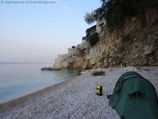 Übernachtung bei Rijeka