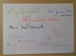 Wildenrath Projekt JUKIS Dorfgemeinschaft Haus Wildenrath