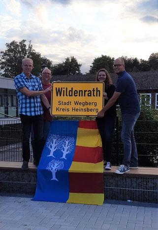 Vorstand Dorfgemeinschaft Wildenrath