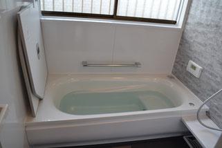 新しいお風呂場(浴槽)