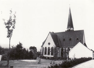 dudweiler, herrensohr, kaltnaggisch, kirche, kreuzkirche, 1910