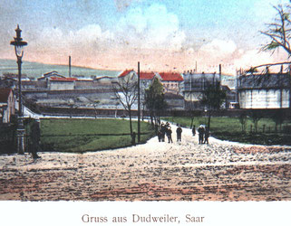 dudweiler, saarbruecken, saarland, altes gaswerk, am herrensohrer weg, 1903