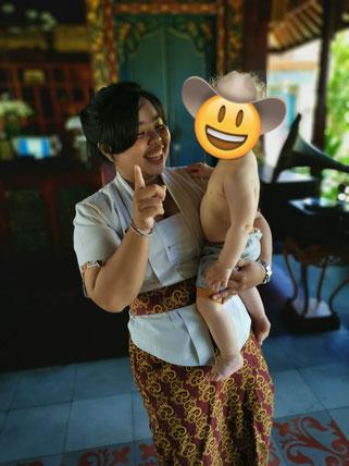 Bali mit Baby