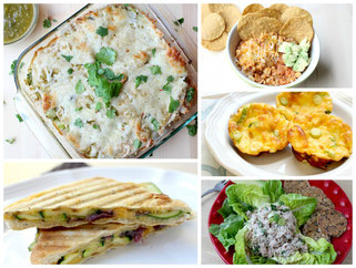 Easy Weeknight Dinner Recipe Round-up Menu