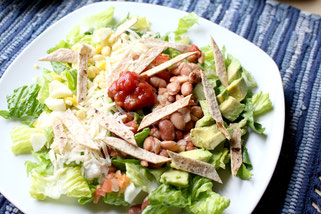Colorful Southwestern Salad (vegetarian)