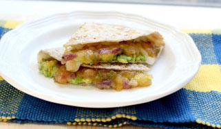 Avocado Mango Chutney Quesadilla