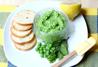 Fresh Mint Pea Pesto