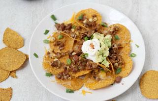 Easy Beef Taco Nachos