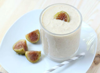 Apple, Fig, and Honey Smoothie