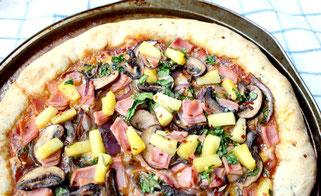 Semi-Homemade Hawaiian Pizza