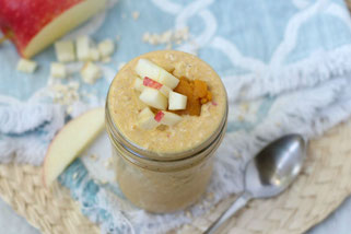 Apple Pumpkin Overnight Oats