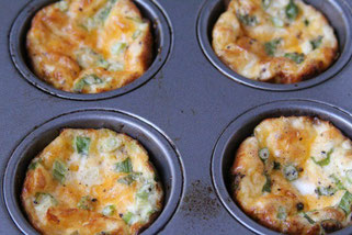 Four Ingredient Mini Frittatas