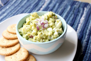 Quick Avocado Egg Salad