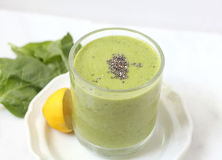 Green Chia-Lemon Smoothie
