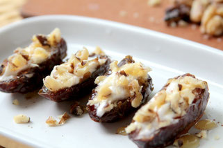 Stuffed Dates with Walnuts and Honey