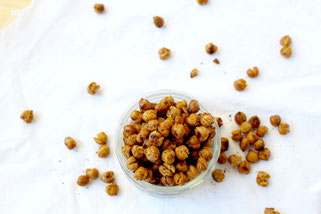 Smoky BBQ Roasted Chickpeas