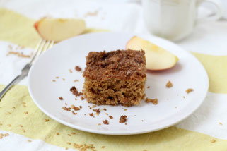 Spiced Apple Cardamom Coffee Cake