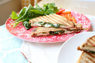 Fast Italian Grilled Chicken Panini