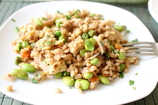 Barley Veggie Fried Rice
