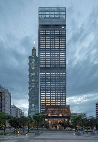 4. Platz: Nan Shan Plaza in Taipeh, Taiwan. Copyright: Hisao Suzuki