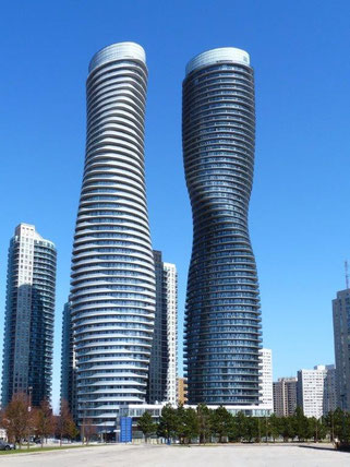 Absolute World Towers im kanadischen Mississauga. © Edvard Mahnic