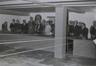 Schießstanderöffnung 1974