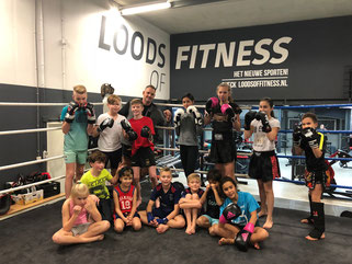 Kickboksen voor kinderen in Bunschoten bij Loods of Fitness Bunschoten Spakenburg