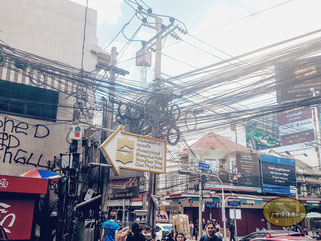 Die Strassen Bangkoks