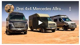 Mit 3 Allrad Sprinter durch die Sahara