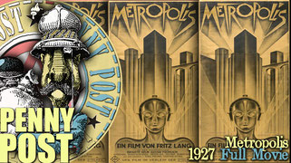 METROPOLIS Legendary sci-fi classic filmed in 1927.