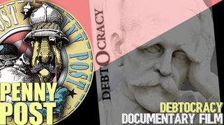 """DEBTOCRACY (Greek: Χρεοκρατία Chreokratía) A 2011 left-wing documentary film by Katerina Kitidi and Aris Chatzistefanou. The documentary examines the causes of the Greek debt crisis in 2010 and advocates for the default of """"odious debt""""."""