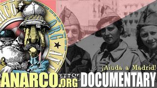 CNT - FAI Spanish anarchist union propaganda film - Spanish Civil War 1936-39
