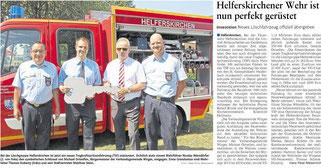 Bericht der Westerwälder Zeitung vom 10.07.2017