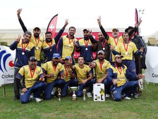 Nomads, CSPL champions 2019