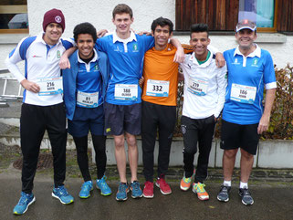 Zurich Crickets sponsored runners