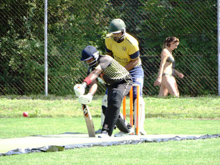 Berne batting versus Nomads in 1st PT20 semi-final