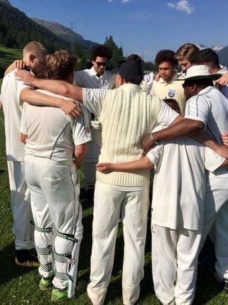 LAZ team huddle