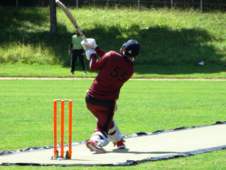 Geneva batting against St Gallen